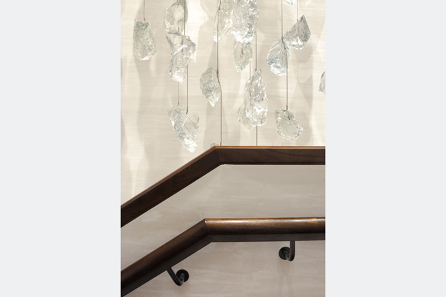 investment firm stair crystal art